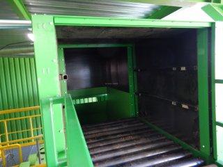 Linka pro drcení objemných průmyslových odpadů