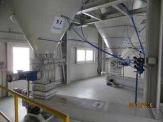 Míchací centrum vedlejších energetických produktů