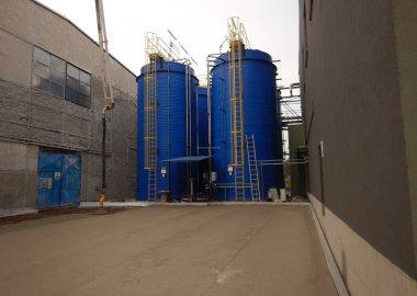 New tanks for thermal phosphoric acid