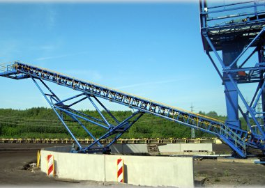 Snížení prachových emisí na uhelné skládce