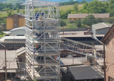 Production of refractory materials
